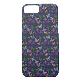 Coque iPhone 8/7 Kaléidoscope des papillons - cas de téléphone