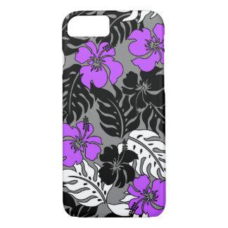 Coque iPhone 8/7 Ketmie hawaïenne de baie de Huakini florale