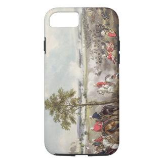 Coque iPhone 8/7 La bataille de Goojerat le 21 février 1849, engr