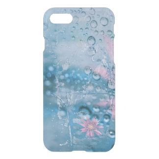 Coque iPhone 8/7 La belle eau et cas en verre en baisse de baisses