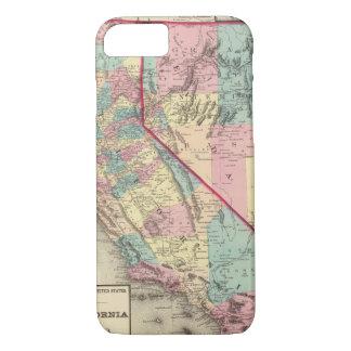 Coque iPhone 8/7 La Californie et le Nevada 2 2
