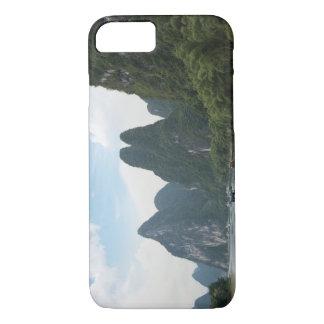 Coque iPhone 8/7 La Chine, Guilin, rivière de Li, bateaux rayent
