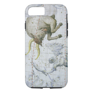 Coque iPhone 8/7 La constellation de Taureau, plaquent 2 du 'atlas