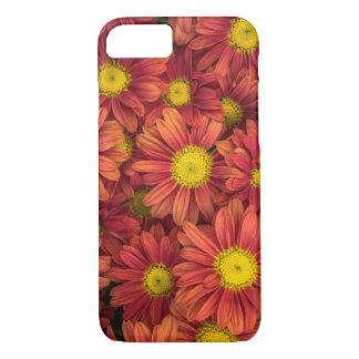 Coque iPhone 8/7 La couverture d'iPhone de marguerite orange,