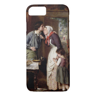 Coque iPhone 8/7 La dévotion d'un fils, 1868 (huile sur la toile)