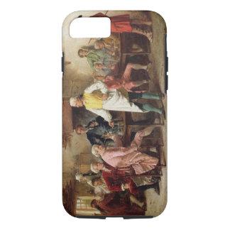 Coque iPhone 8/7 La discussion d'un monsieur, 1881 (huile sur le