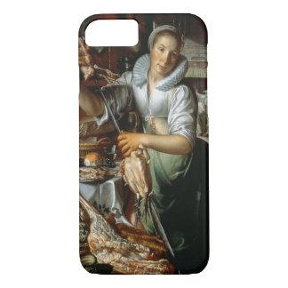Coque iPhone 8/7 La domestique de cuisine (avec le Christ, Mary et