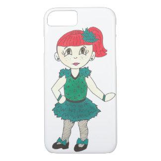 Coque iPhone 8/7 La fille mignonne de danse de robinet Tapdance le