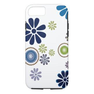 Coque iPhone 8/7 La fleur fraîche d'amusement a conçu le cas aux