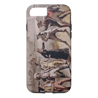 """Coque iPhone 8/7 La """"foi de la femme"""" (litho de couleur)"""
