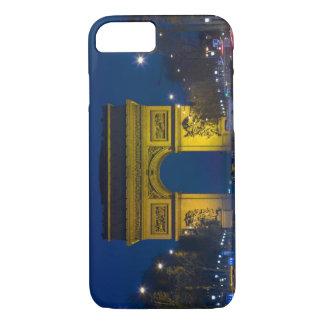 Coque iPhone 8/7 La France, Paris. L'Arc de Triomphe et