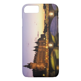 Coque iPhone 8/7 La France, Paris, rivière la Seine et Conciergerie