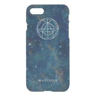 Coque iPhone 8/7 La galaxie personnalisée de nébuleuse tient le