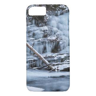 Coque iPhone 8/7 La glace a couvert la banque de crique
