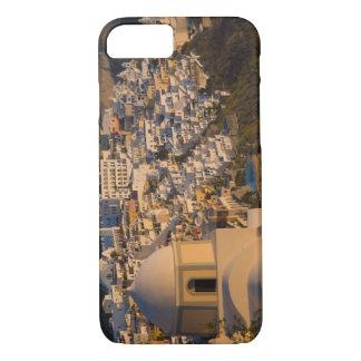 Coque iPhone 8/7 La Grèce et l'île grecque de la ville de Santorini