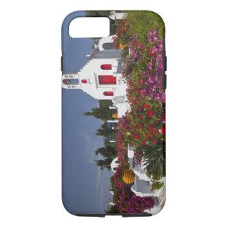 Coque iPhone 8/7 La Grèce, Mykonos, petite chapelle mignonne dans