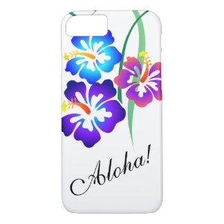 Coque iPhone 8/7 La ketmie hawaïenne fleurit Aloha