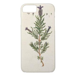 Coque iPhone 8/7 La lavande française, plaquent 241 'd'un Herbal