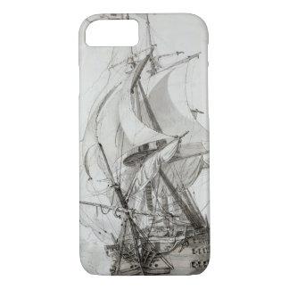 Coque iPhone 8/7 La Montagne, c.1794 (parquez la semaine et