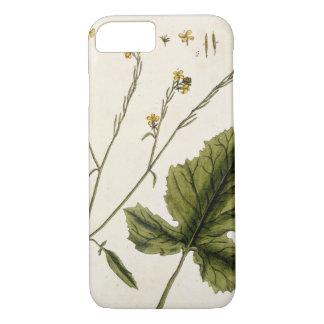 """Coque iPhone 8/7 La moutarde, plaquent 446 """"d'un de fines herbes"""