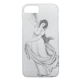 Coque iPhone 8/7 La Muse de la danse, plat VI de 'Madame Hamilton