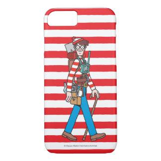 Coque iPhone 8/7 Là où est Waldo avec tout son équipement