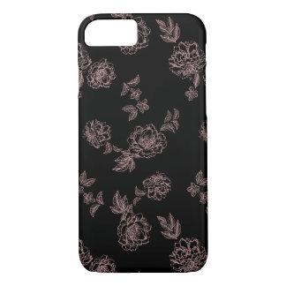 Coque iPhone 8/7 La pivoine fleurit le rose