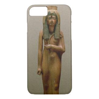 Coque iPhone 8/7 La Reine divine Ahmose Nefertari (bois peint)