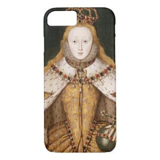 Coque iPhone 8/7 La Reine Elizabeth I dans des robes longues de
