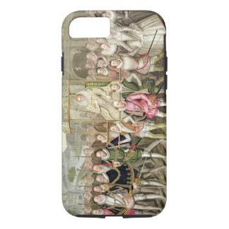 Coque iPhone 8/7 La Reine Elizabeth I dans le cortège avec ses