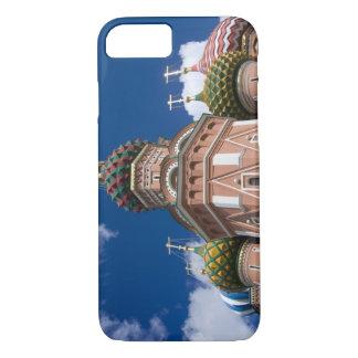 Coque iPhone 8/7 La Russie, Moscou, carré rouge. St Basil 2