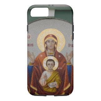Coque iPhone 8/7 La Russie, Moscou, colline de moineau, église de