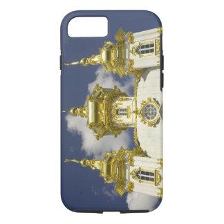 Coque iPhone 8/7 La Russie. Petrodvorets. Palais de Peterhof. Peter
