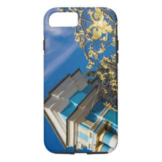 Coque iPhone 8/7 La Russie, Pushkin. Détail de porte et tour de