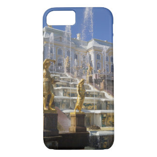 Coque iPhone 8/7 La Russie, St Petersburg, la grande cascade,