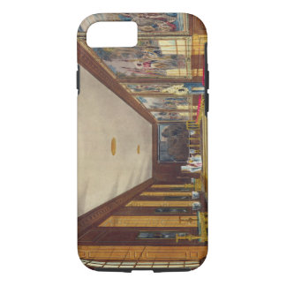 Coque iPhone 8/7 La salle de boule, Hampton Court, 'de l'histoire