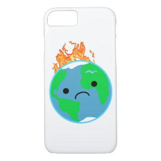 Coque iPhone 8/7 La terre sur le feu