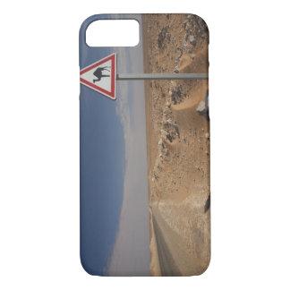Coque iPhone 8/7 La Tunisie, région de Ksour, Ksar Ghilane, oléoduc