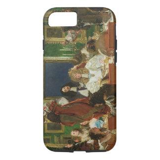 Coque iPhone 8/7 La vie de Buckingham, 1853-55 (huile sur toile) (s