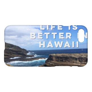 Coque iPhone 8/7 La vie est meilleure dans la couverture de