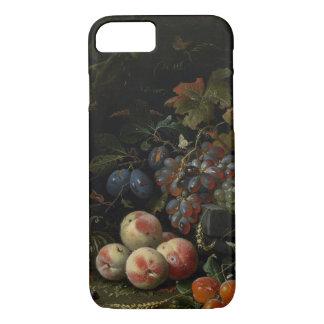 Coque iPhone 8/7 La vie toujours avec le fruit, le feuillage et les