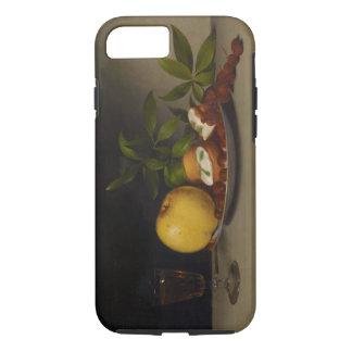 Coque iPhone 8/7 La vie toujours avec le fruit, les gâteaux et le