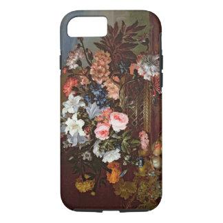 Coque iPhone 8/7 La vie toujours des fleurs dans un panier