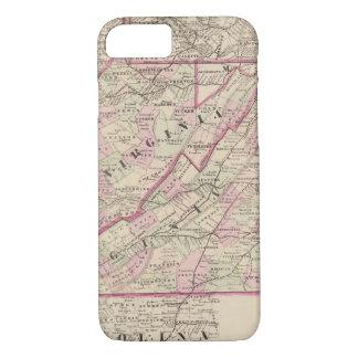 Coque iPhone 8/7 La Virginie et la Virginie Occidentale