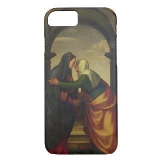 Coque iPhone 8/7 La visite de St Elizabeth à Vierge Marie