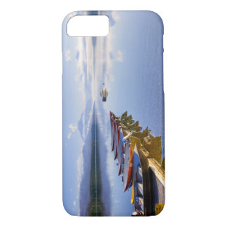 Coque iPhone 8/7 Lac McDonald, parc national de glacier, Montana,