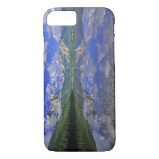 Coque iPhone 8/7 Lac stanley dans les montagnes de dent de scie de
