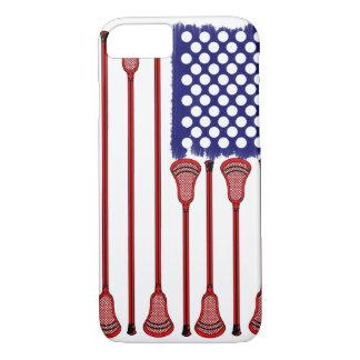 Coque iPhone 8/7 Lacrosse AmericasGame