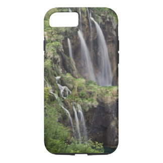 Coque iPhone 8/7 Lacs Plitvice de claque de Veliki (cascade)