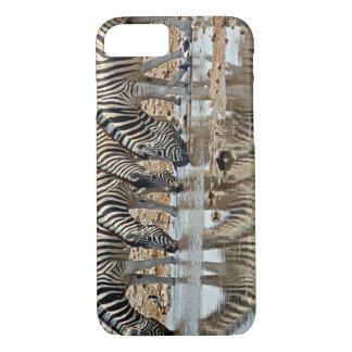 Coque iPhone 8/7 L'Afrique, Namibie, Etosha NP. Le zèbre de